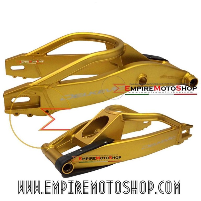 Swing Arm Delkevic R25 Gold
