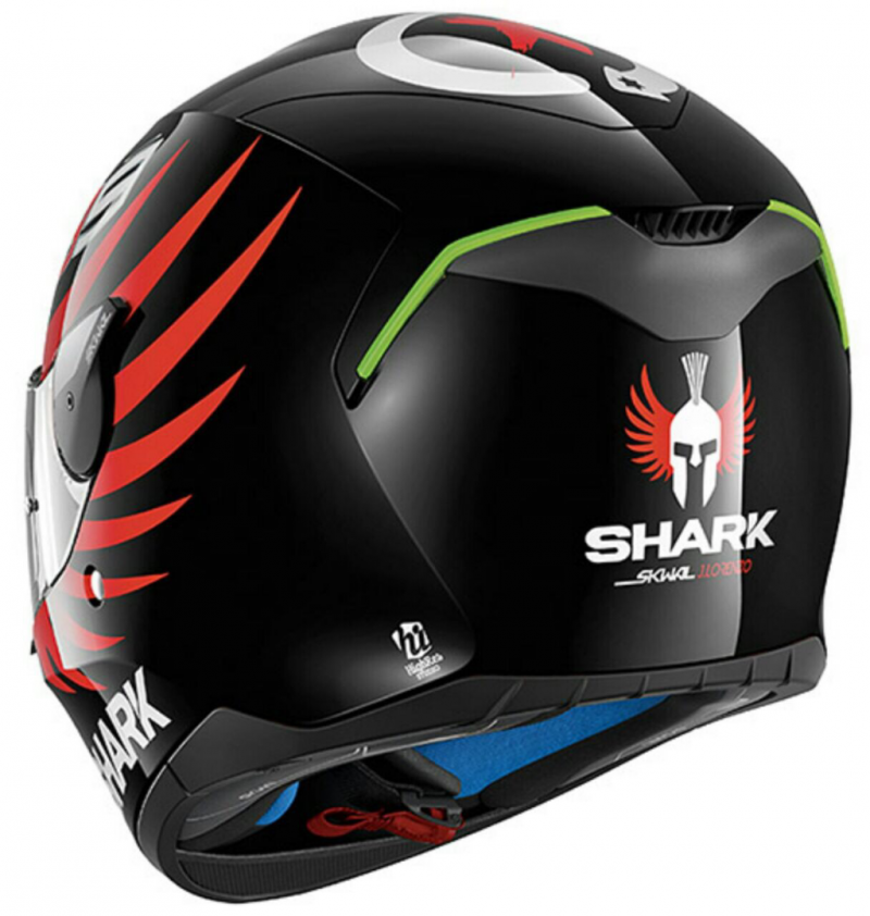 Helm Shark Skywal Lorenzo Black