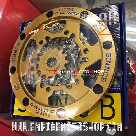 Gear set Sinnob Gold Ninja 250 Fi