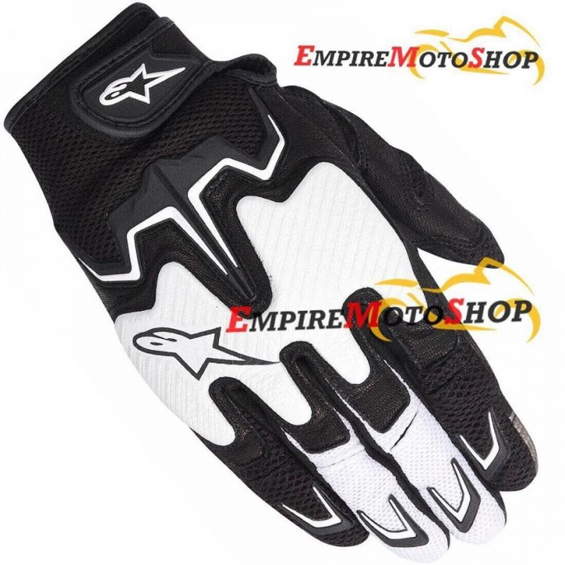 Sarung Tangan Alpinestars Fighter Air Black White Original