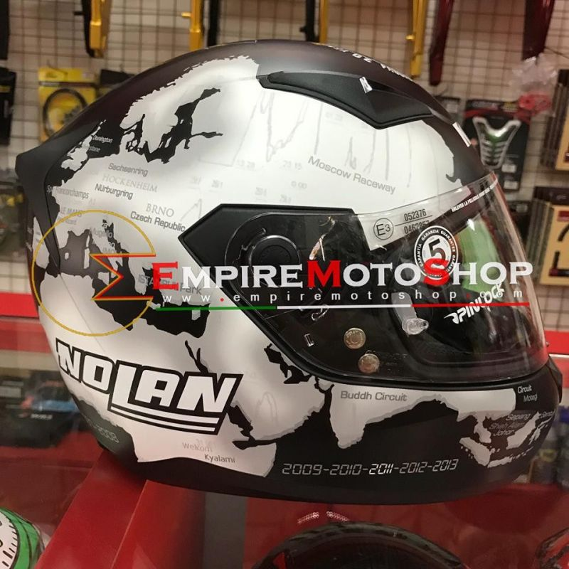 Helm Nolan N60.5 Checa Black N60-5 028