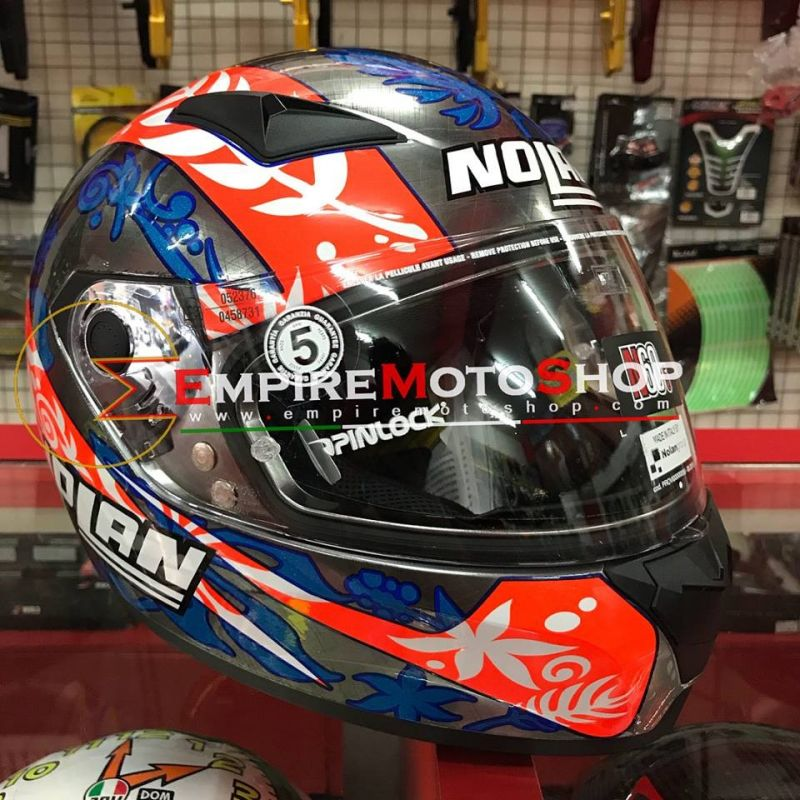 Helm Nolan N60.5 Petrucci Scratched Chrome