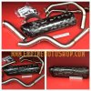 Knalpot Two Brothers Fullsystem Blackseries Long