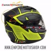 Helm Nolan N64 Hexagon Yellow