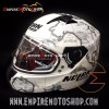 Helm Nolan N64 Checa Flat White