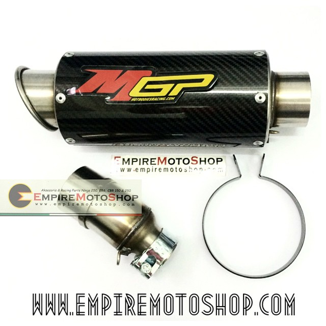 Knalpot MGP Carbon Slip On N250FI