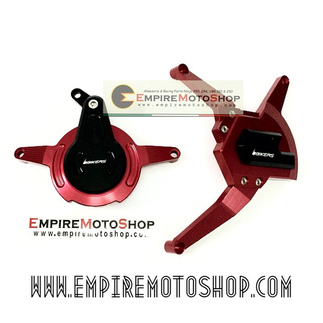 Cover Engine Bikers Red Kawasaki Ninja 250 FI (Taiwan)