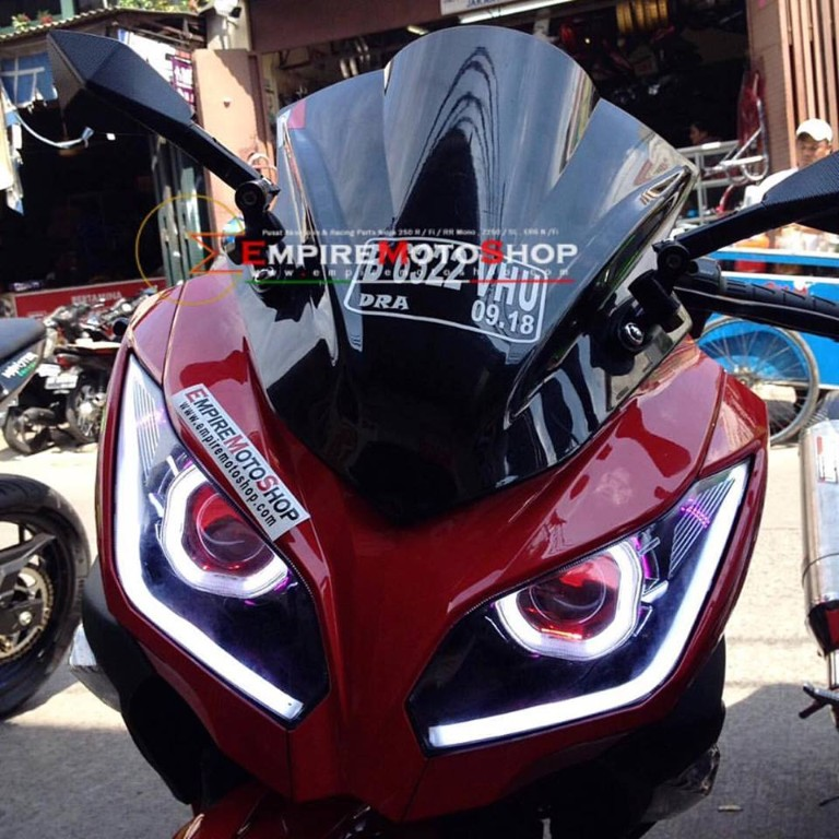 Windshield EMS Smoke Ninja 250 FI