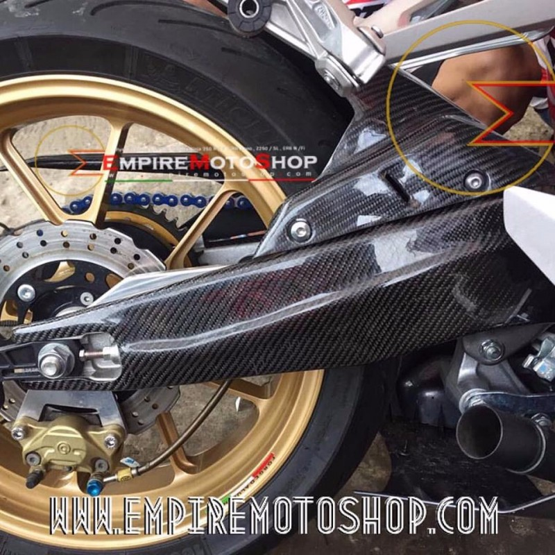 Cover Swing Arm Carbon Kevlar CBR250RR