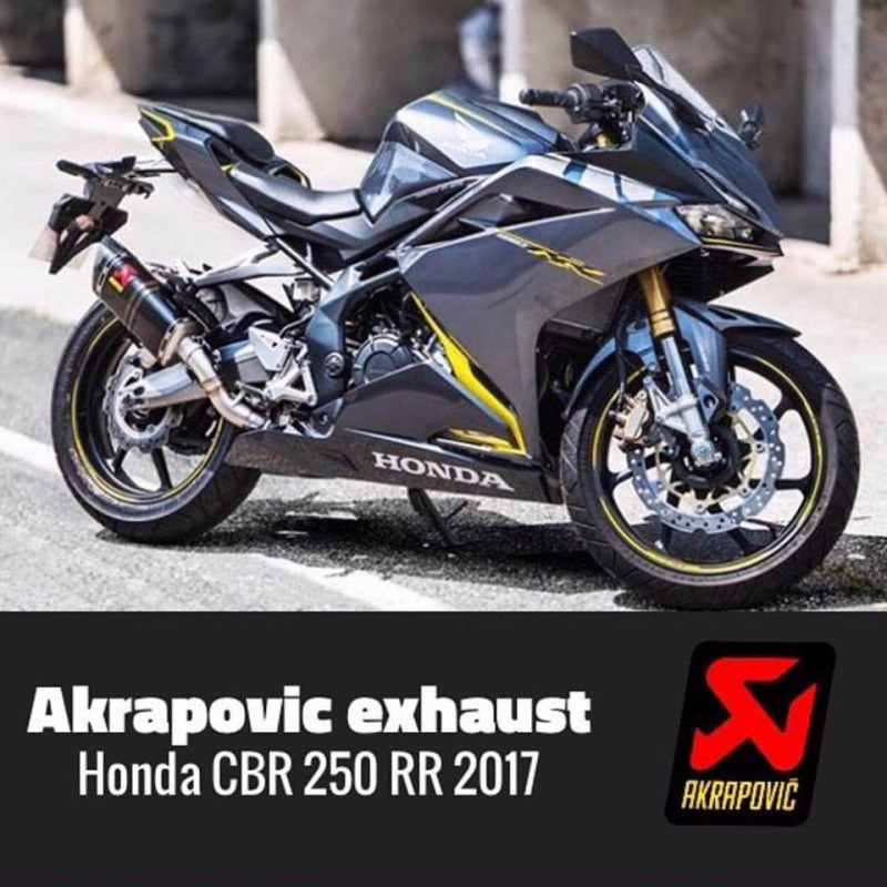 Knalpot Akrapovic Honda CBR250RR Slip On Original